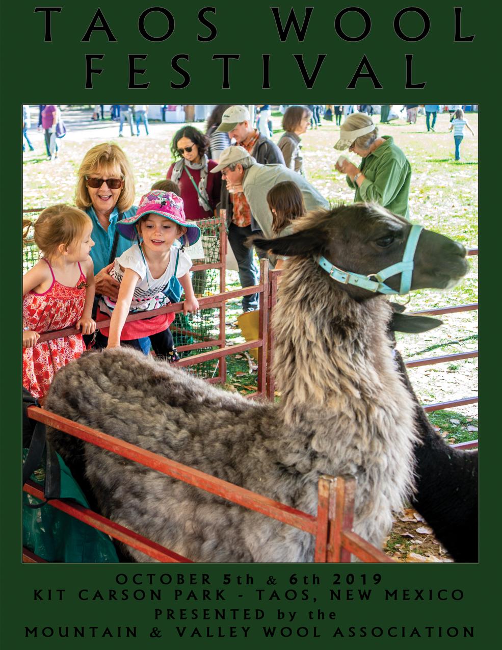 Taos Wool Festival 2019 Program-Directory