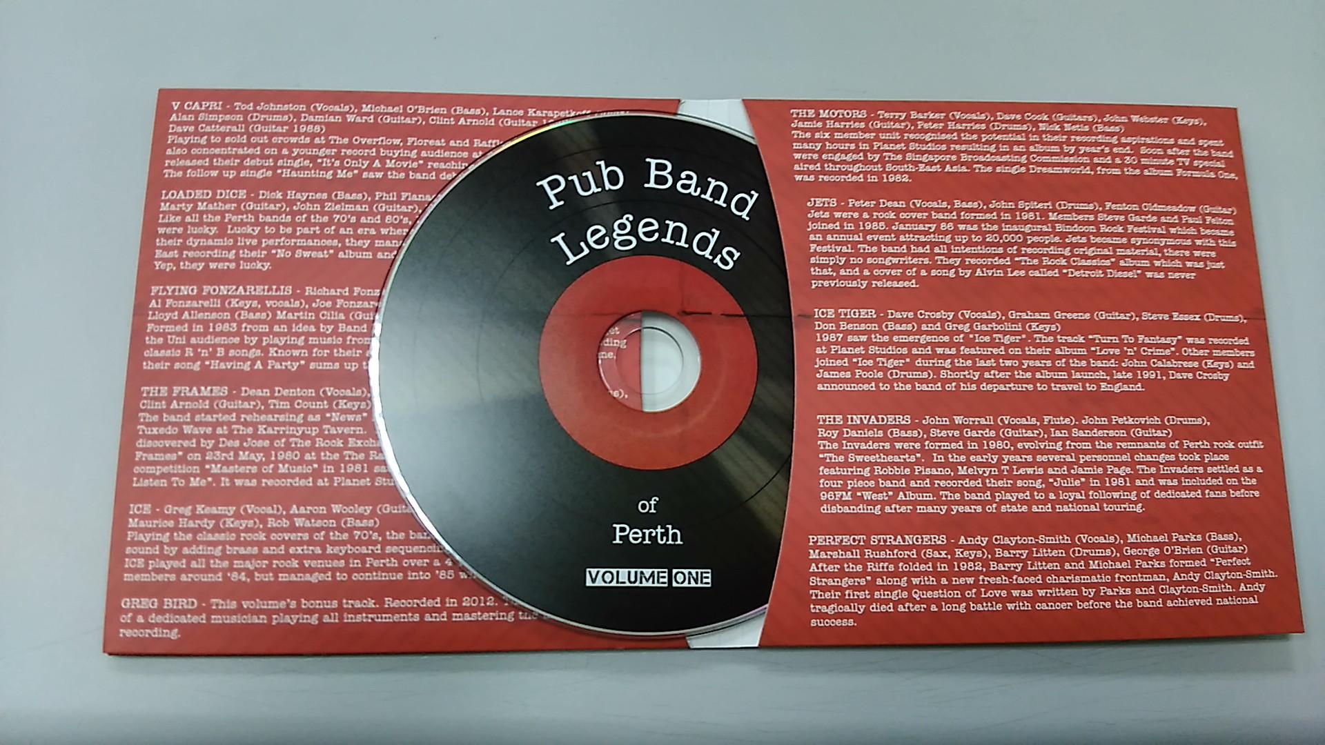 Perth Pub Bands Vol 1