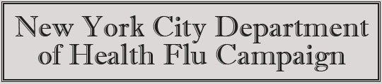 New York City Department of Health Flu Campaign