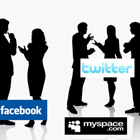 Consulting Social Site Logos