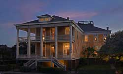 Galveston Bay Bed Breakfast real estate photography