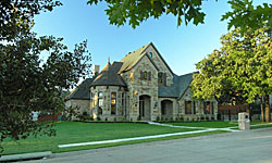 Fort Worth Lake Front Home Photographer