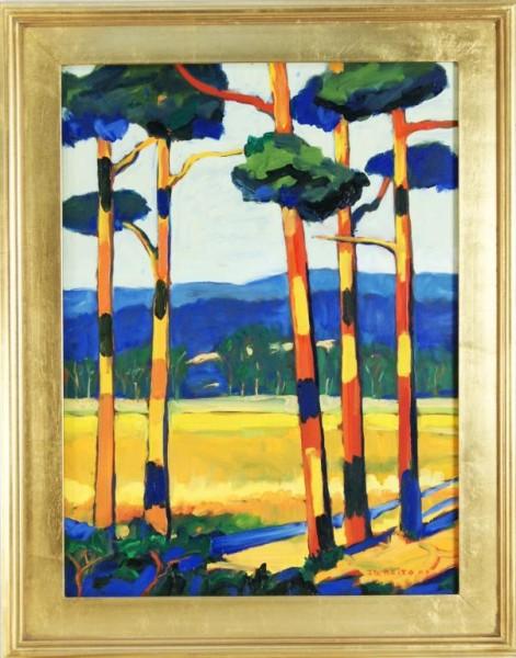 Joao de Brito Painter Artist Portuguese American born in the Azores