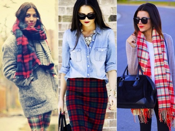Street Style: How to Wear Plaid - Canadian Fashion and Style Blog ...