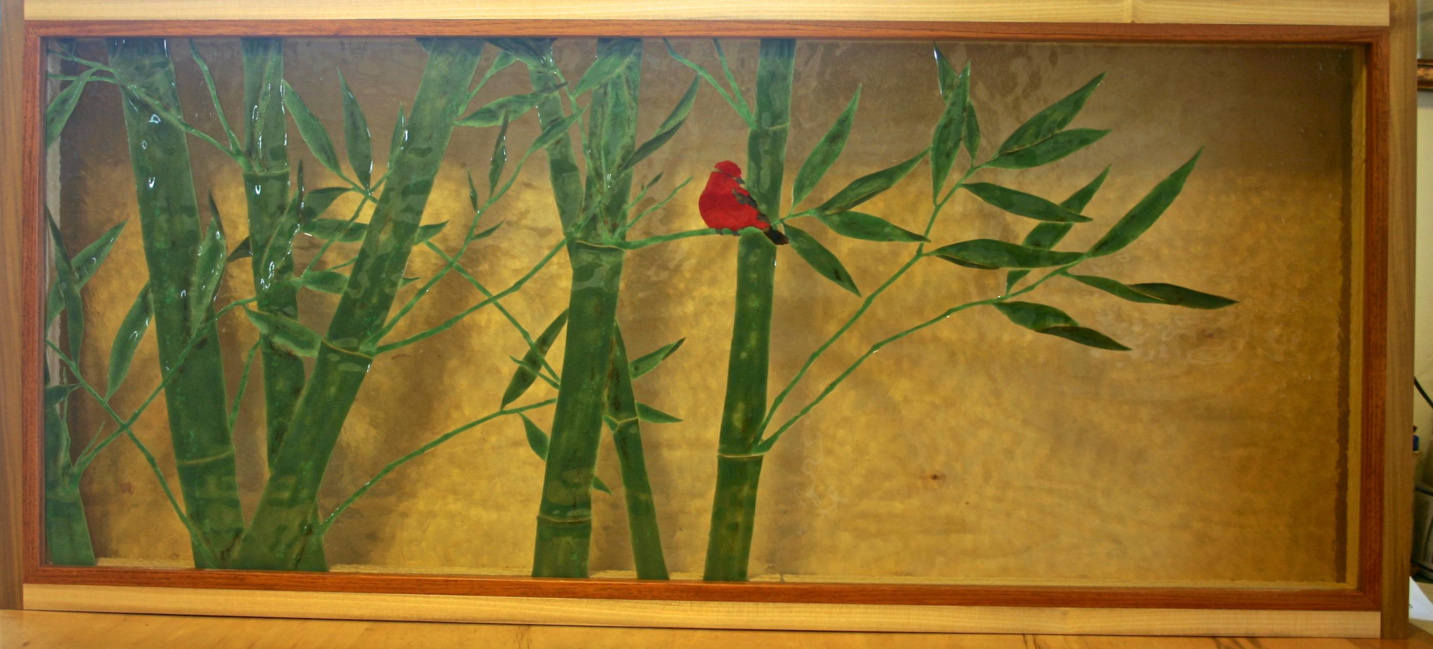David Frisk - Blog - Carved Fused Glass