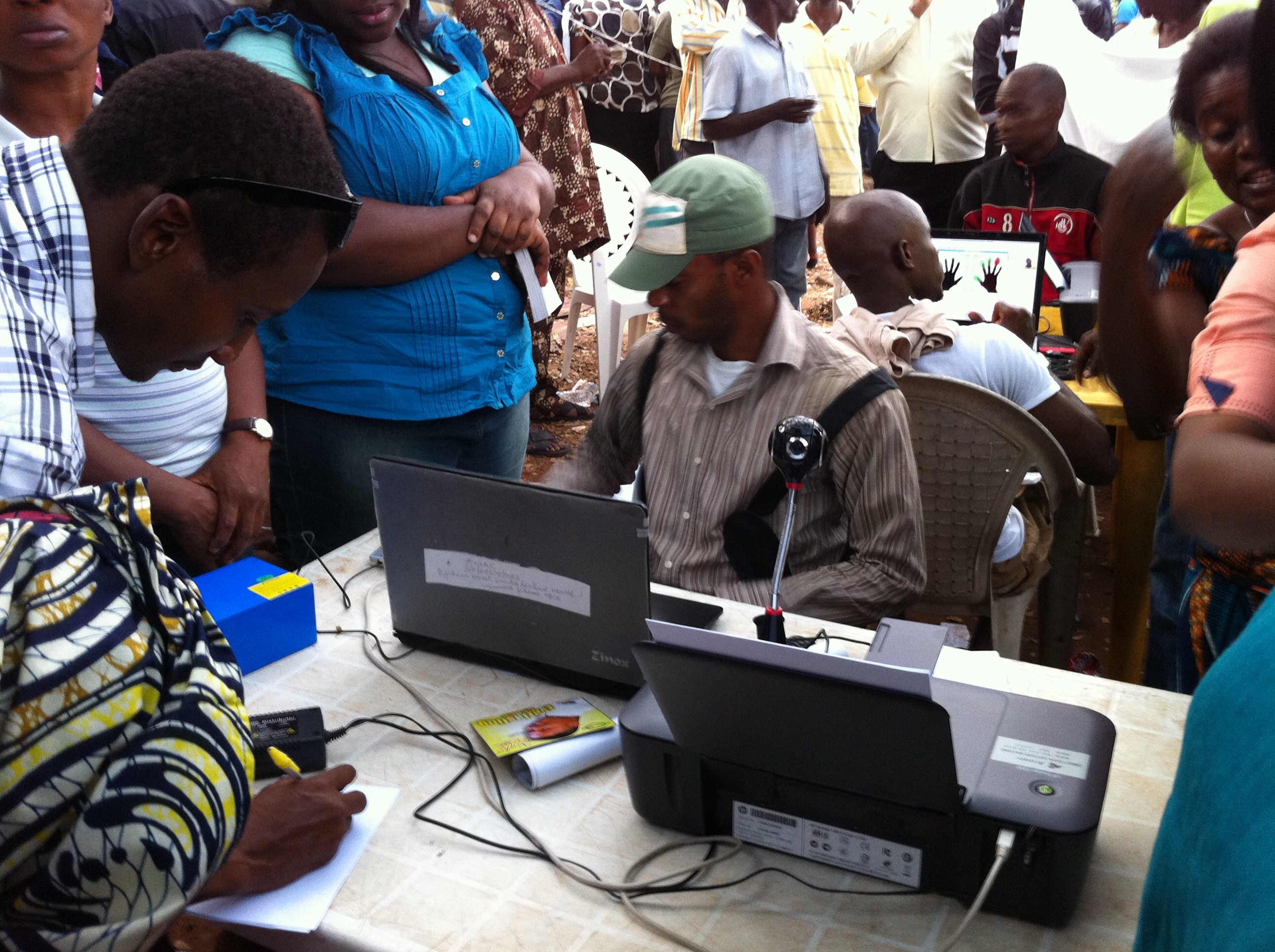 INEC: 57,737 registers for voters card in 3 days
