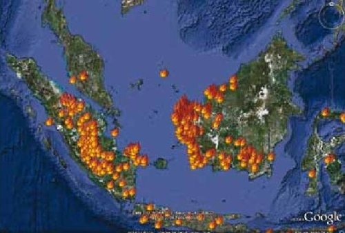 an analysis of the fires of indonesia Dta differential thermal analysis daf dry ash free 4 coal fire prevention and control this report reviews the propensity of coal to self-heat.