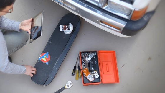Galileo Skateboard Car Repair