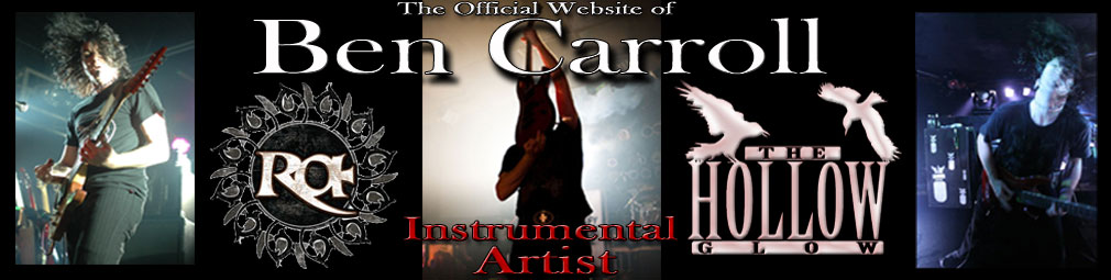 The Official Ben Carroll Website