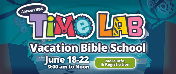 Time Lab VBS at Calvary Baptist Church of Jersey Shore