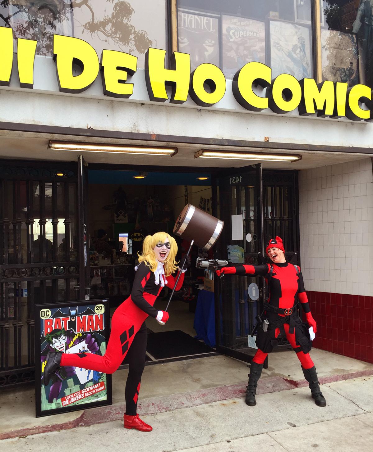 hi de ho comics vendors buy local santa monica. Black Bedroom Furniture Sets. Home Design Ideas