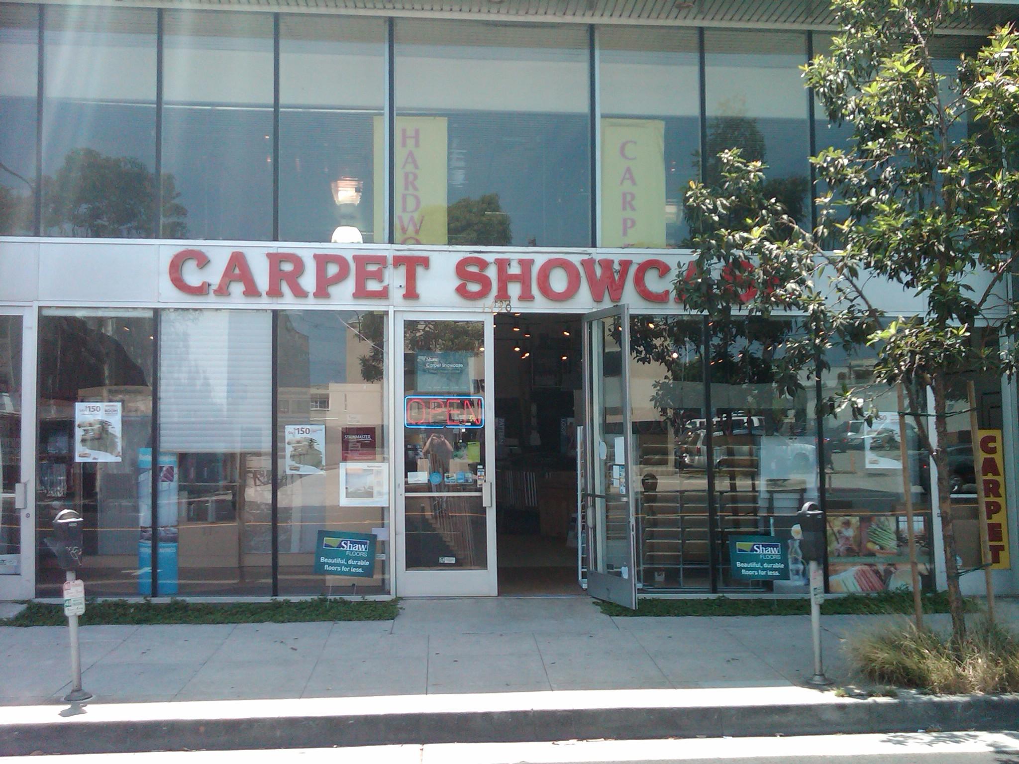 Carpet Showcase Vendors Buy Local Santa Monica