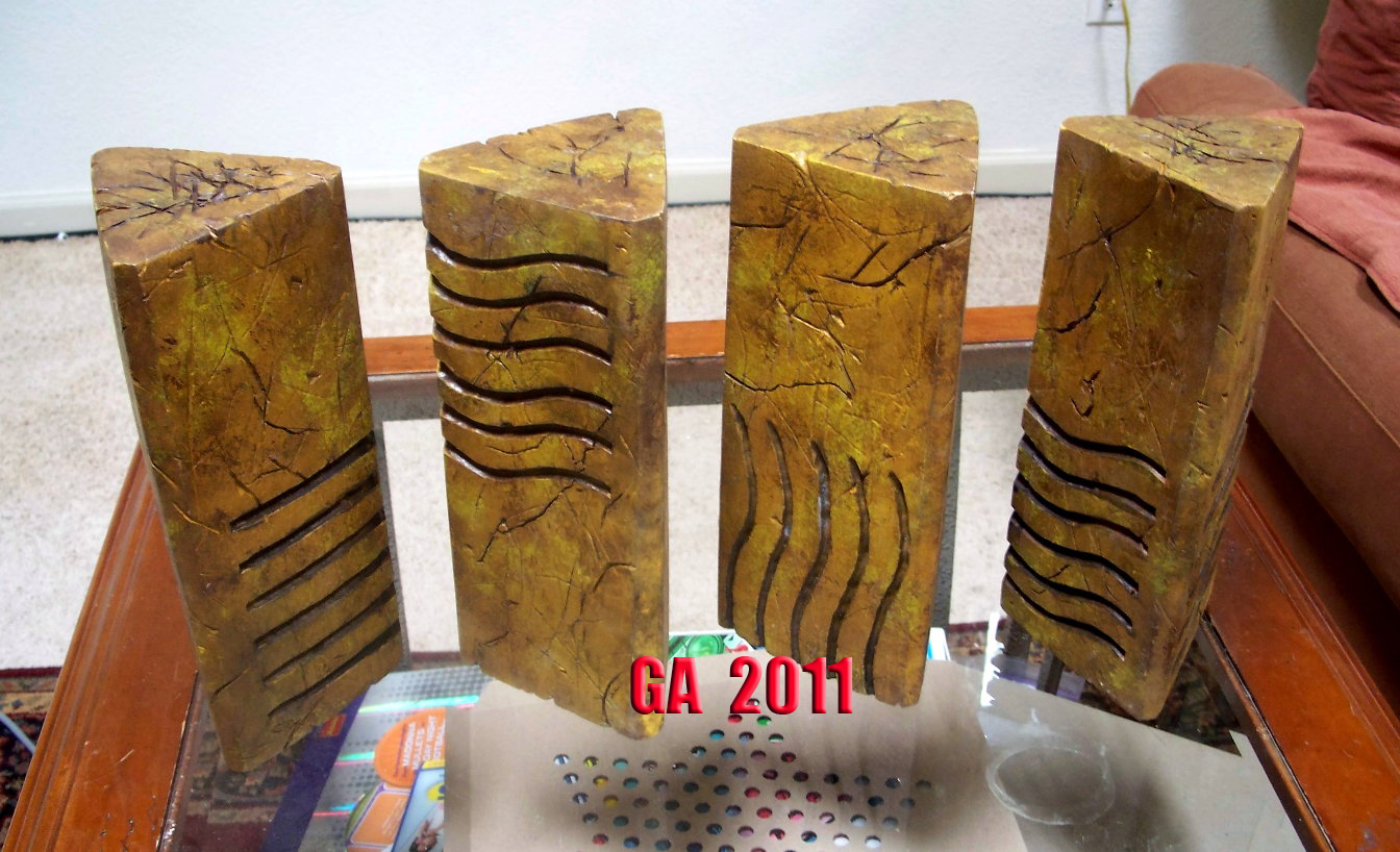 Fifth Element Stones Fifthelementstones Prop Replicas