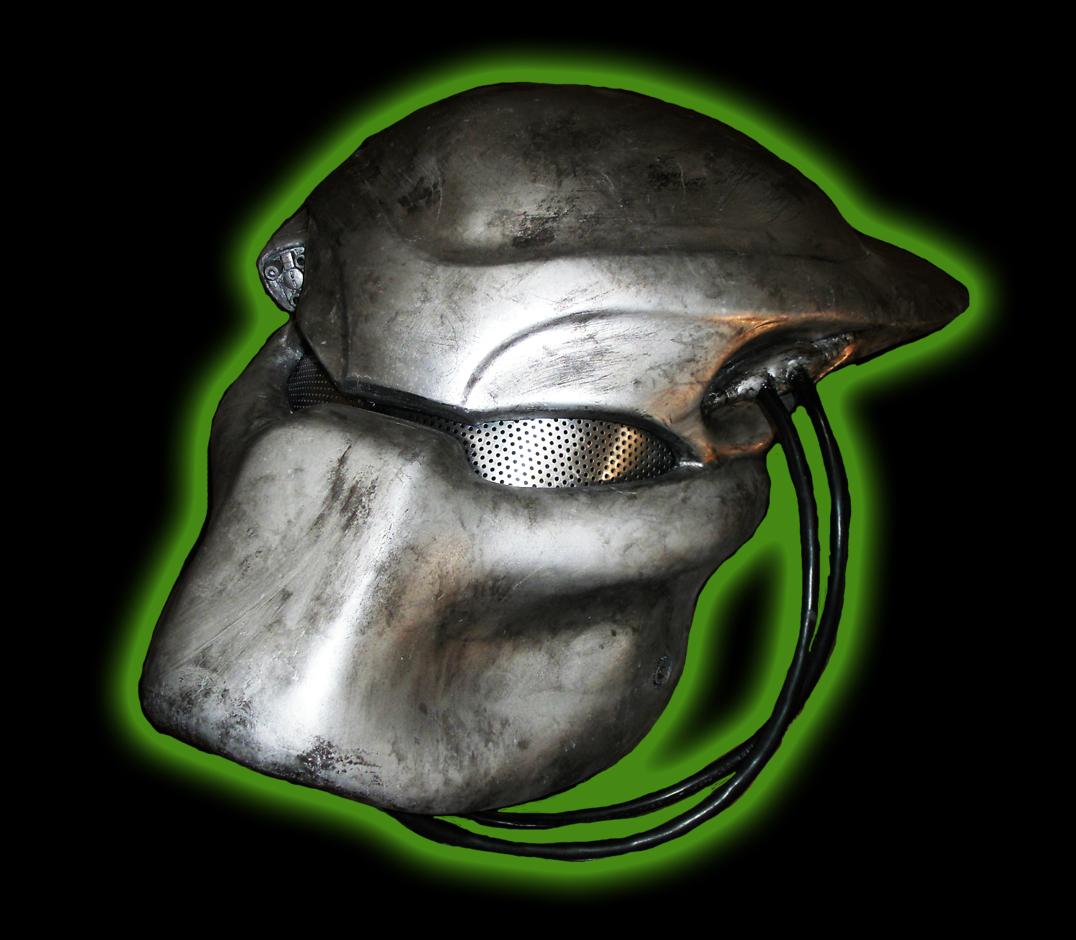 Predator 1 Fibreglass bio mask full size