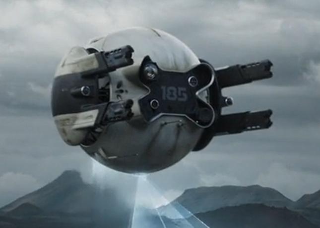 oblivion drone sound effect