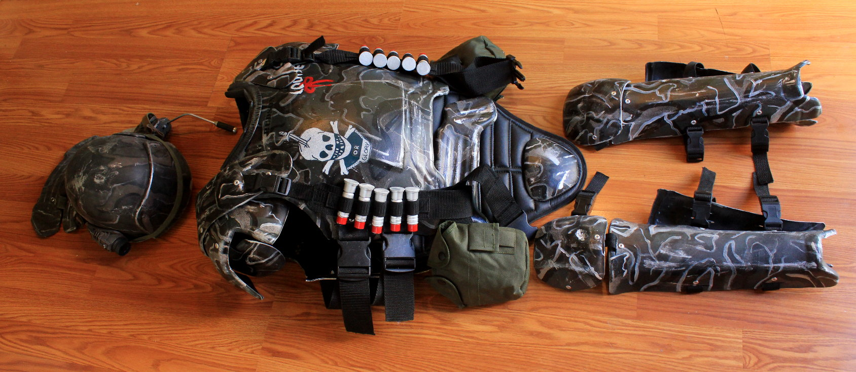 USCM Armor prop & marinearmor - Prop Replicas Custom Fabrication SPECIAL EFFECTS