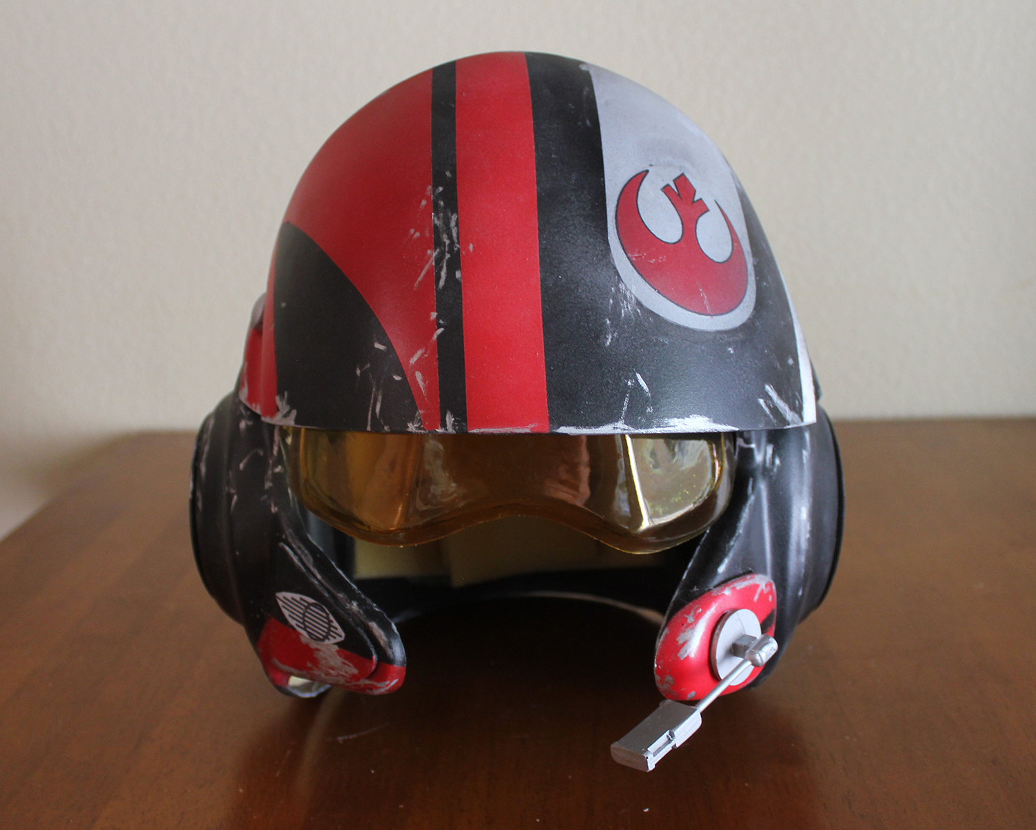 Red 5 vinyl system prop replicas custom fabrication special - Also Check Out The Scavenger Helmet Beautiful
