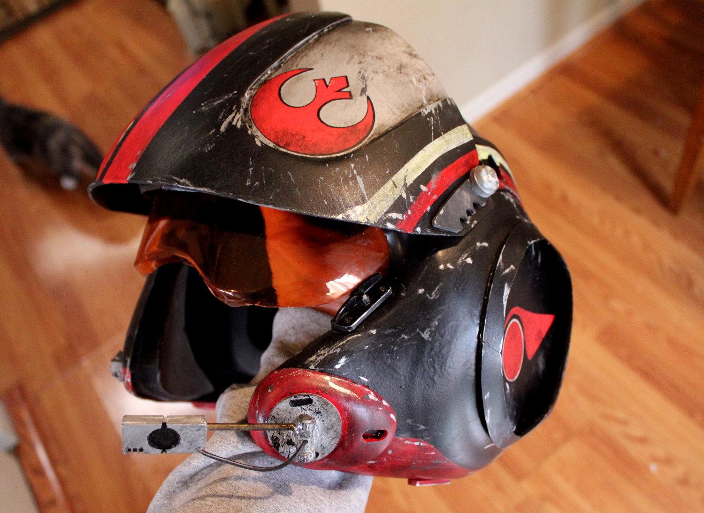Red Wing Chair Episode 7 X-wing Pilot Helmet - EPISODE 7 PILOT HELMET ...