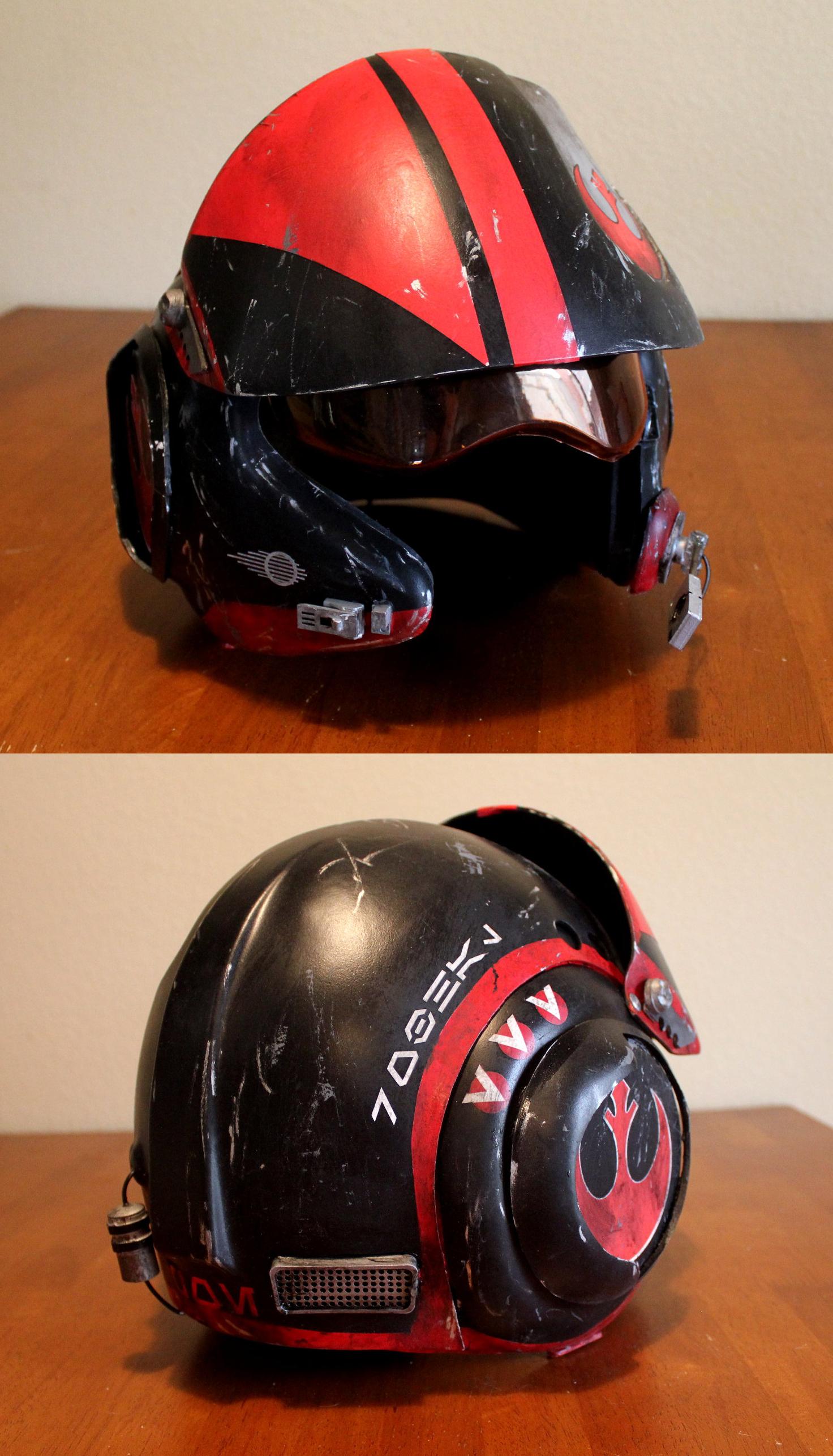 Episode 7 X Wing Pilot Helmet Episode 7 Pilot Helmet