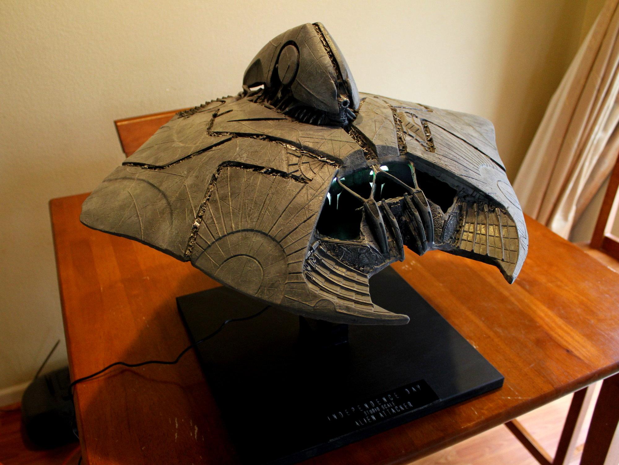 Id4 Alien Attacker Studio Scale Prop Replicas Custom