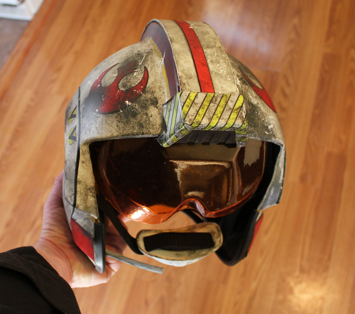 Rebel Pilot Helmet Rebel Pilot Prop Replicas Custom