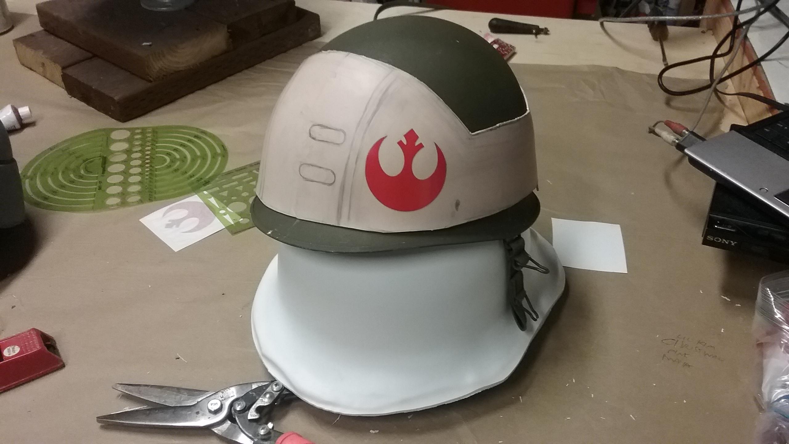 Rebel Soldier Helmet Rebel Solider Prop Replicas