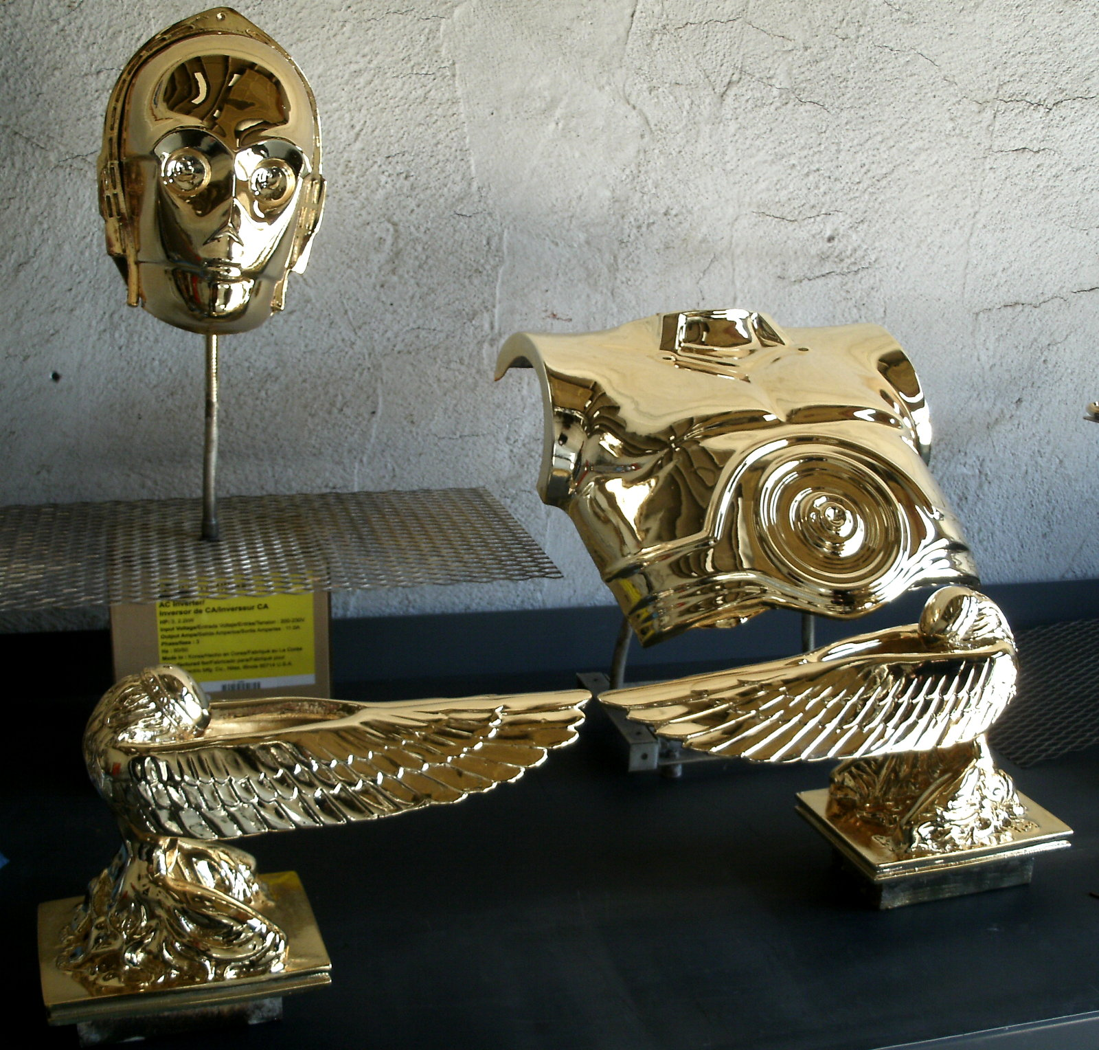 This lifesize replica of the ARK OF THE COVENANT was chromed as ONE MAIN PIECE (with separted angels). Anything that can fit inside a 24\u0027 X 24\u0027 chamber can ... & CHROME PLATING SERVICES - Prop Replicas Custom Fabrication SPECIAL ...