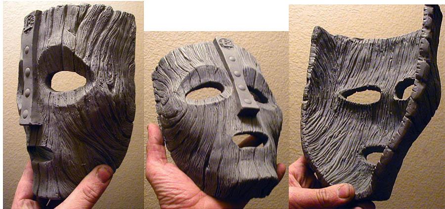 Маска из дерева своими руками