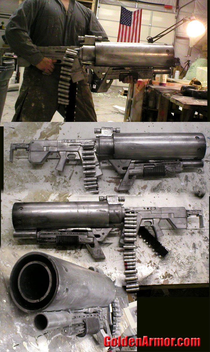 Scratch Built Sci Fi Weapons Time Has Come Prop