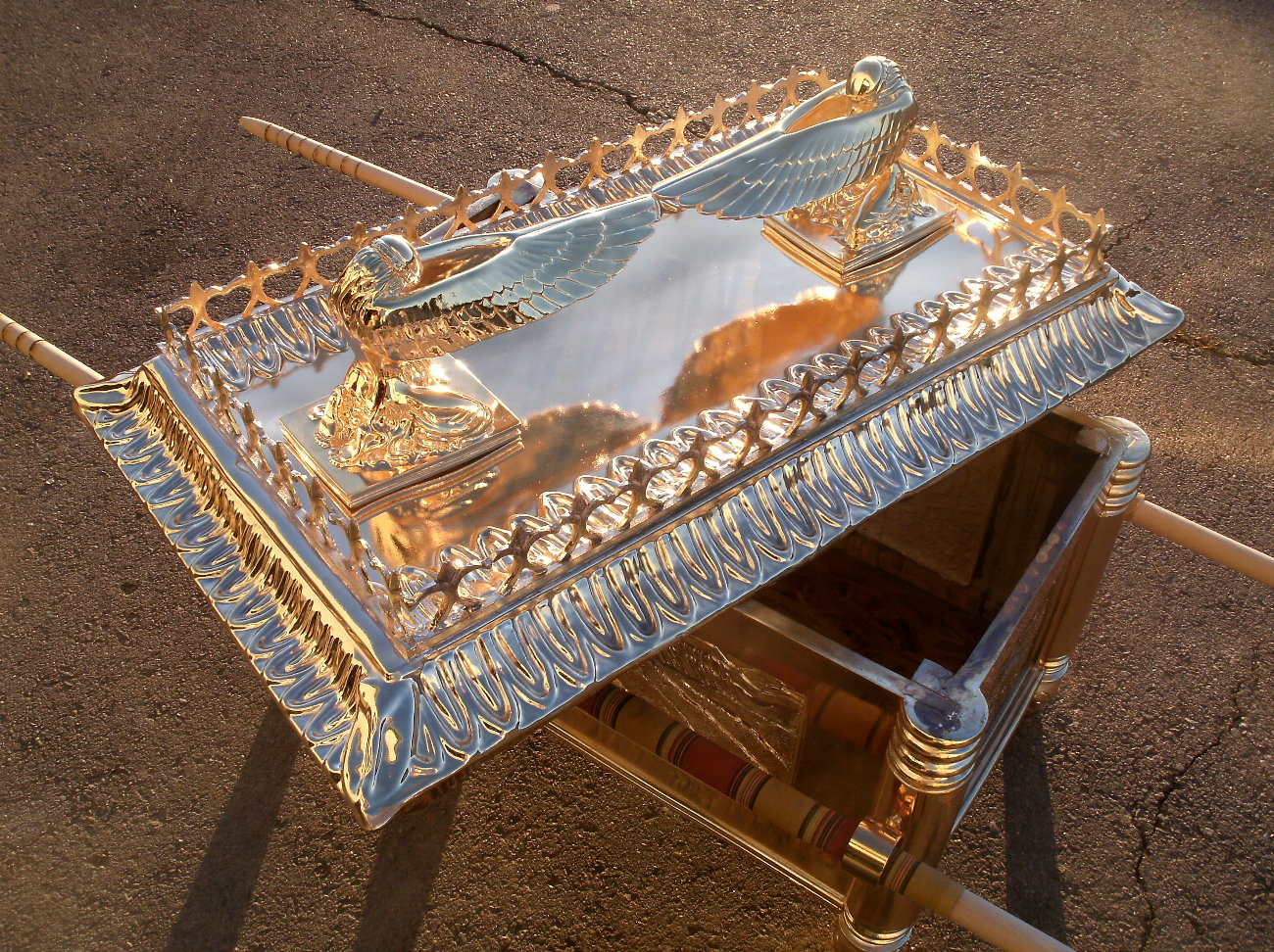 The ark of the covenant found 2010