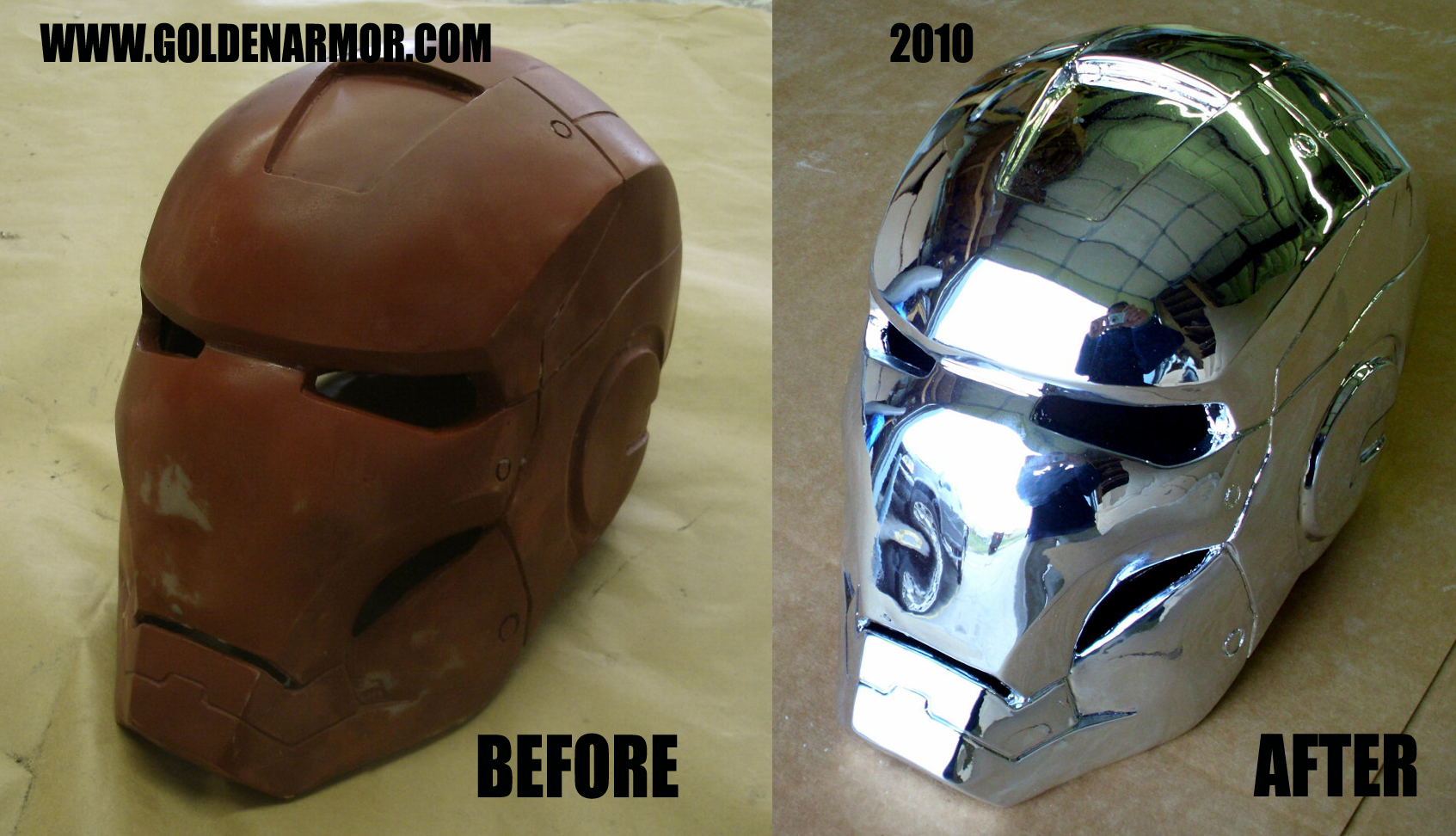 CHROME PLATING SERVICES - Prop Replicas, Custom Fabrication