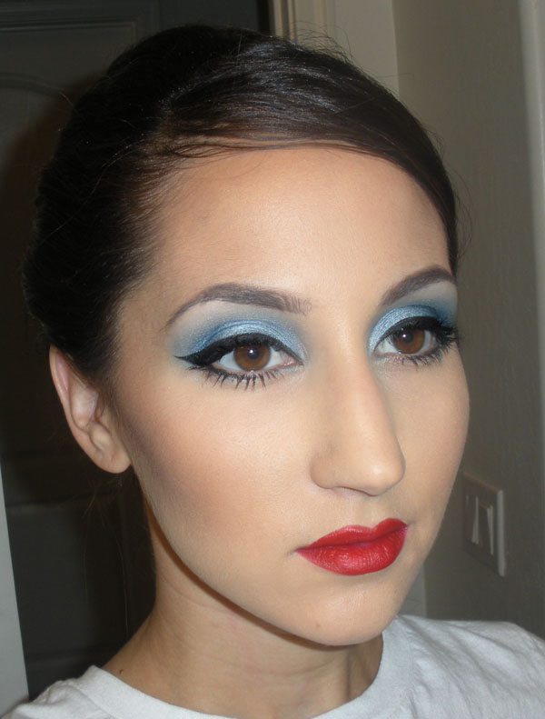 Makeup Tips: Early 1960s FOTD & Tutorial