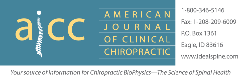American Journal of Clinical Chiropractic
