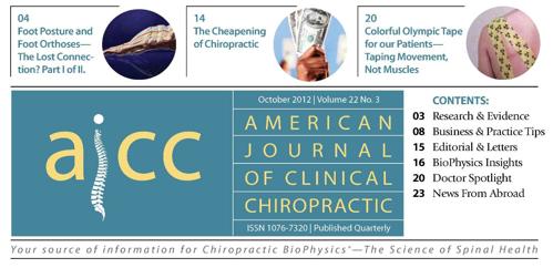 Validating chiropractic slosberg chiropractic