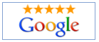We have a 5 star customer rating in Google's Business Directory