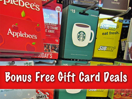Holiday Restaurant Gift Card Deals