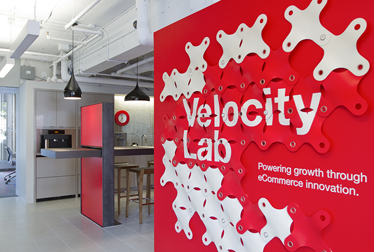 Built for Speed: Staples Velocity Lab - Workplace Strategy and Design - architecture and design