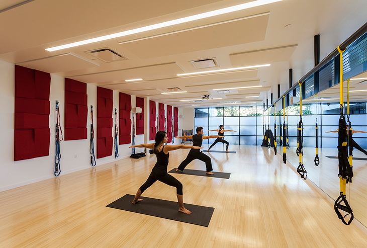 In Addition To Weight And Cardio Equipment Symantec Employees Can Take Advantage Of A Variety Programs That Are Offered The Space Including Group TRX