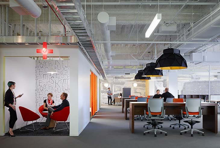 Designing a campus to drive a culture of innovation for Innovation consulting firms chicago