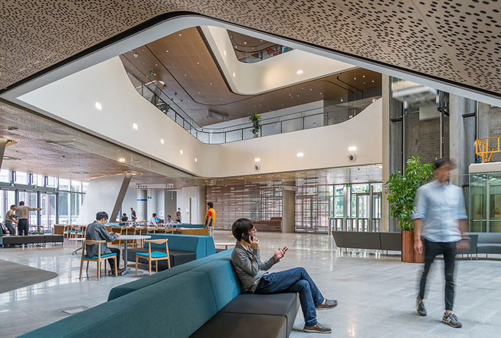 Designing the First Triple-Certified Green Building in China