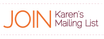 Join Karen's Email List