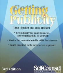 Book Cover: Getting Publicity by Tana Fletcher and Julia Rockler
