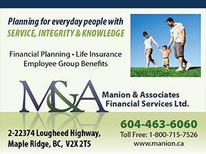 Financial Planner Maple Ridge BC