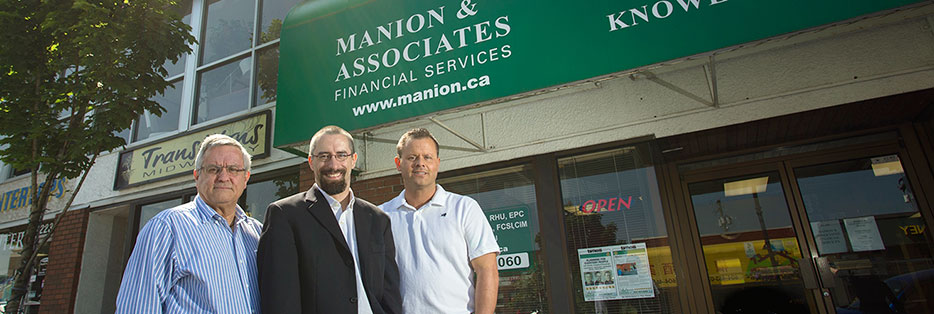 Tom Manion, Allen Larose, Kristian Manion of Manion and Associates