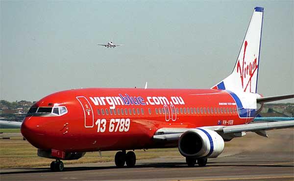 Pesawat Virgin Blue dibajak di Ngurah Rai