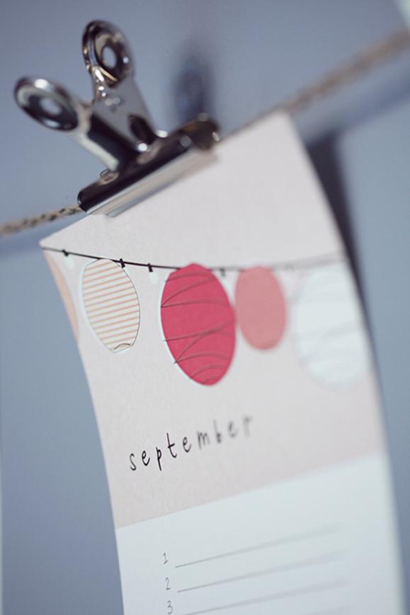 Diy Birthday Calendar Template : Elephantshoe journal our pretty diy quot birthday