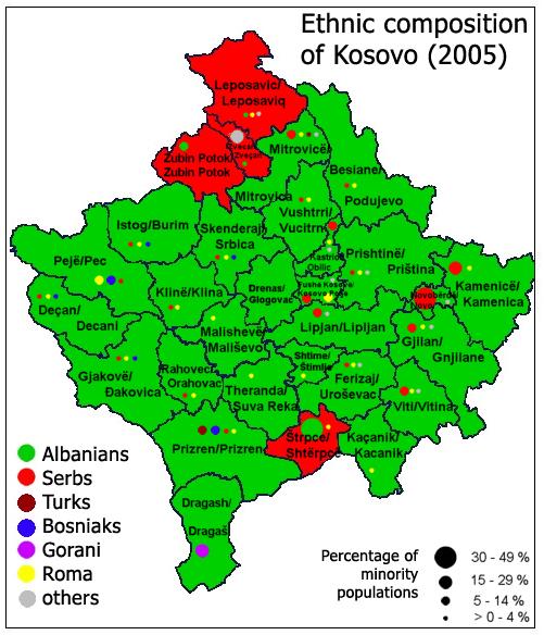 """Koszovói """"sikertörténet"""""""