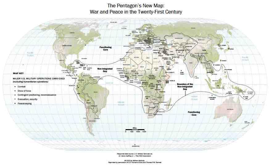 Pentagon Food Map