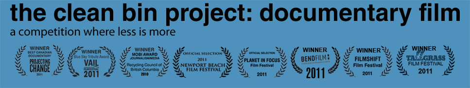 the clean bin project: documentary film