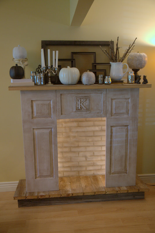 heart break kids blog my very own diy faux fireplace. Black Bedroom Furniture Sets. Home Design Ideas